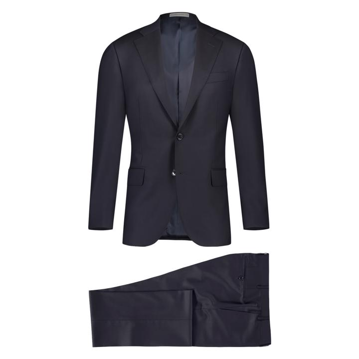 Corneliani Navy Pak Leader Super 130
